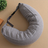 U Shaped Micro Bead Horseshoe Neck Support Travel Pillow