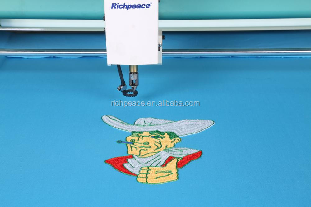 Richpeace Computerized Mixed Chenille/Chain Embroidery Machine