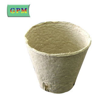 China Supplier Recyclable Paper Flower Pot Paper Mache Flower Pots