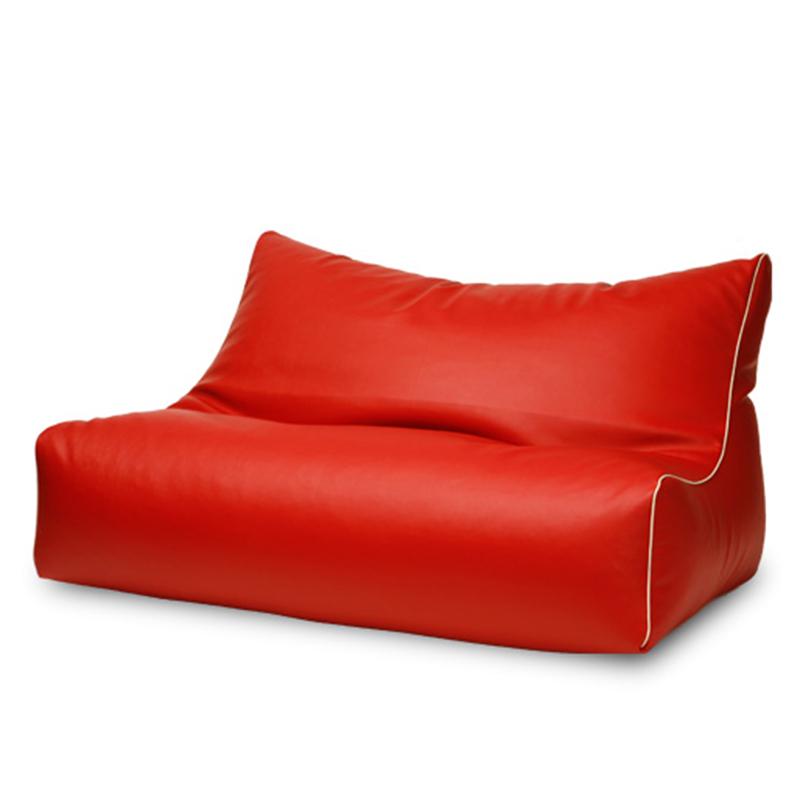 130*80*80cm red beanbag chair sofa cover salon furniture