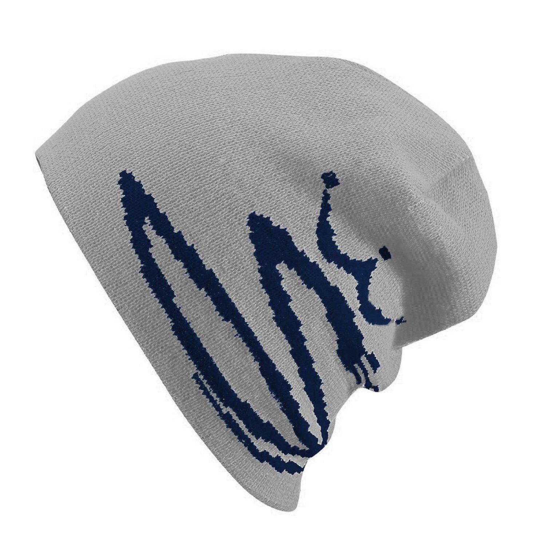 NEW Cobra Golf Reversible Peacoat/Light Gray Beanie Toboggan Ski Hat/Cap