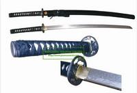 high quality damascus steel handmade katana samurai sword HK027