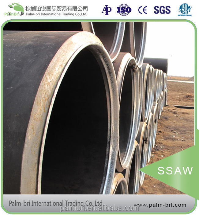 low price ssaw welding steel tubes for building construction 36m