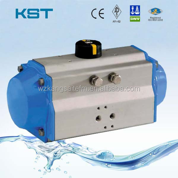 Rack & Pinion Pneumatic Actuator With Double Acting