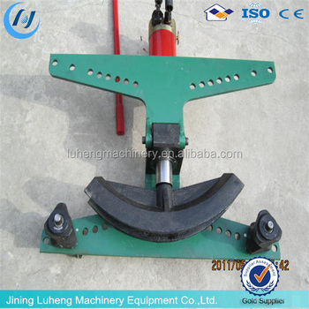 manual square tube bending machine