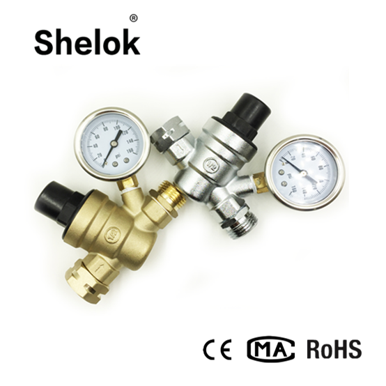 High quality oxygen gas pressure regulator For sale