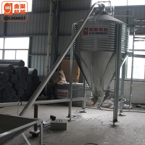 Best Design and Good Quality Hot Galvanized Feed Silo for Poultry Farming House