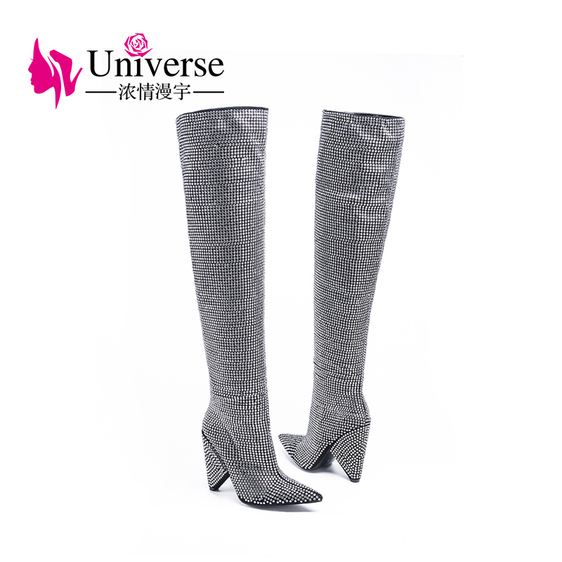 boots winter for shoes black Wholesale ladies woman A012 vFnqaIC