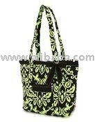 COTTON QUILTED FASHION TOTE