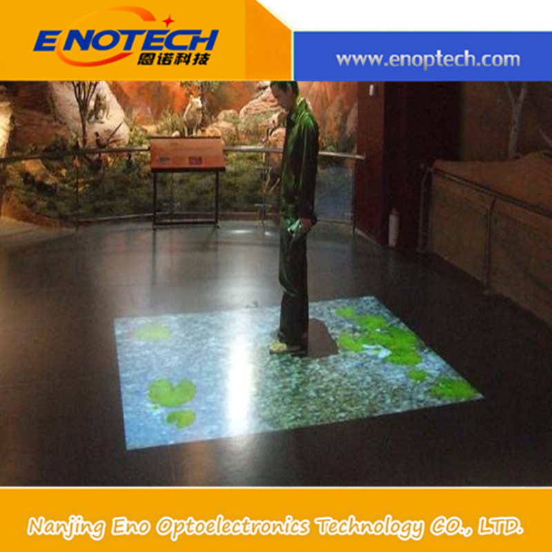 low price interactive floor/ interactive projector for mobile