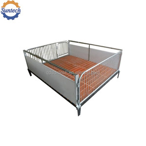 Pig farming equipment steel nursery pen with BMC floor