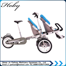 XYK-002 Foldable Mother And Son bicycle Three Wheels Luxury Baby Stroller 3 In 1