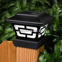 20 Lumens Solar Fence Post Cap Lights