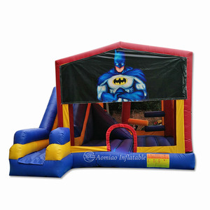 Big discount cheap inflatable batman bouncy castle,inflatable jumping castle