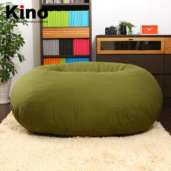 Floor Bean Bag Chair Round Beanbag Sofa