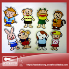 Customize all kinds of cartoon rubber fridge magnet for Home Decor