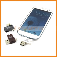 Two In One Mirco USB OTG Card Reader For Samsung Galaxy S7
