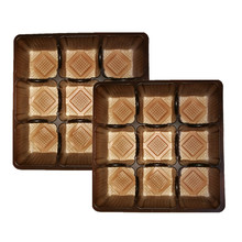 Best Quality Pet Customized Inner Chocolate Tray Disposable Cookie Plastic Trays