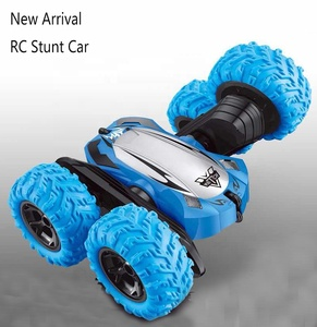 RC Car Remote Control Stunt Car 4WD Monster Truck Double Sided 360 Rotate Tumbling High Speed Rock Crawler Vehicle with Lights