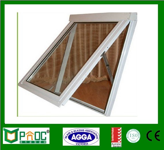 City complex construction double pane glass window grill design for sale
