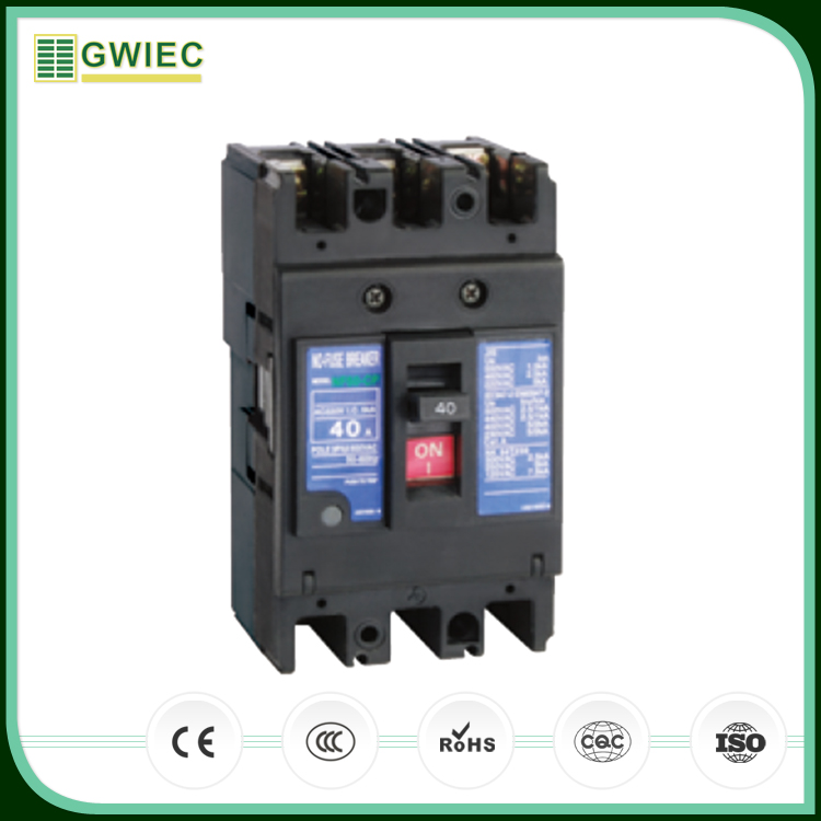 GWIEC Good Quality Factory Sell Low Price Mccb 3P 50A Molded Case Circuit Breakers
