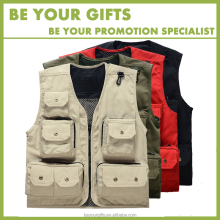 Photography fishing vest