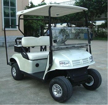 Seater Folding Electric Golf Cart Independent Suspension