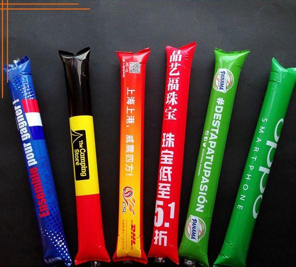 Горячая продажа пользовательские светодиодные Надувные палочки