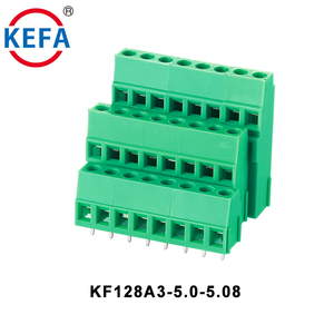 KF128A3-5.0/5.08mm 2Pole pcb panel mount terminal block 300V/20A