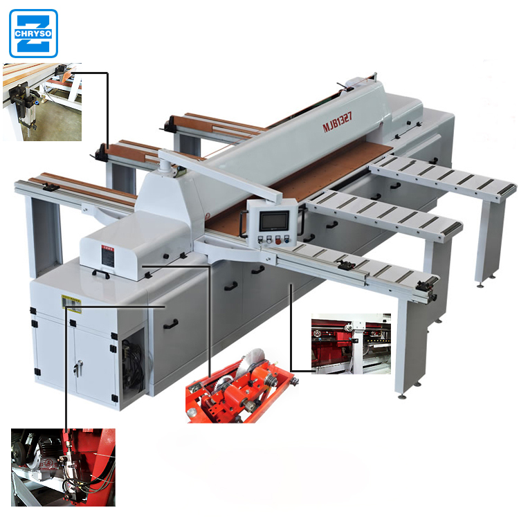 Cheap price panel saw sliding table woodworking machinery cnc wood cutting