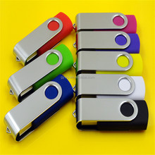 High-speed computer u disk 1G~64G automotive metal rotating usb custom lettering creative usb flash drive