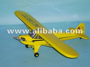 PIPER CUB wooden model airplane