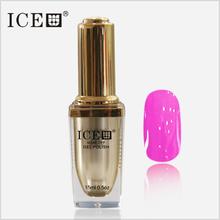 ICE nail gel polish 6pcs soak off 300 colors gel lacquer UV LED Long lasting Top