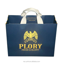 Promotional Paper Carry Bags for Advertising, With Twist PP Rope Handles