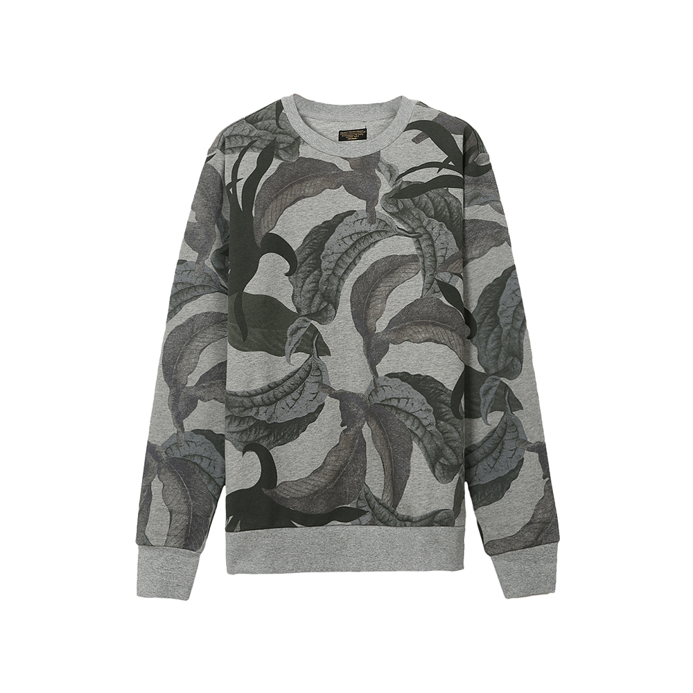 men's camouflage sweater long sleeve t-shirt