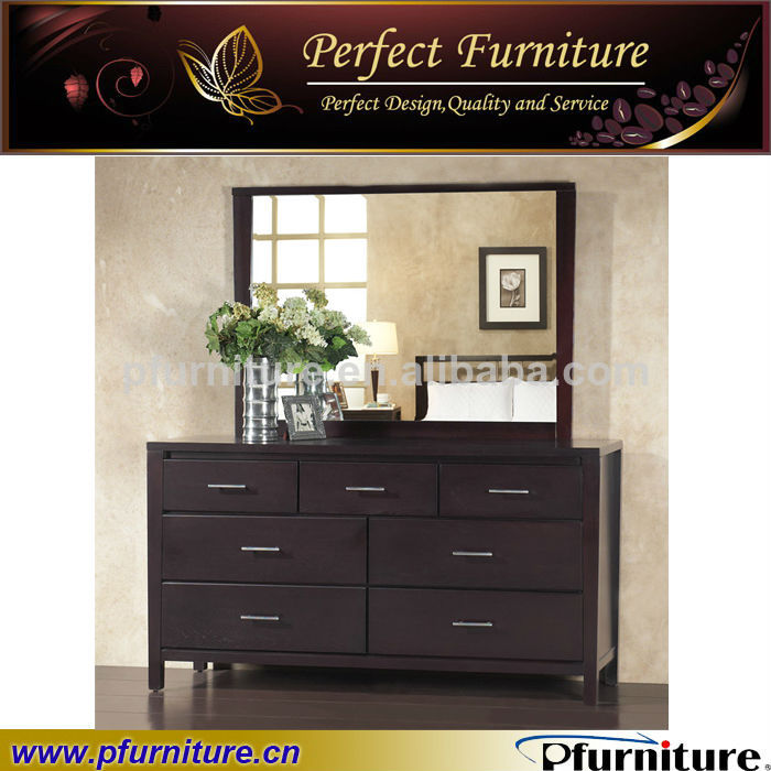 en bois massif mobilier de chambre maquilleuse coiffeuse avec miroir ...