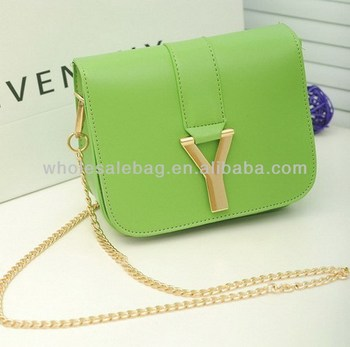 2479de4e637a Long Chain Logo Sling Bag Small Cross Shoulder Bag Custom Messenger Bag For  Women