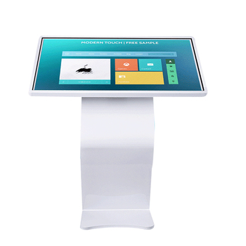 Touch advertising machine self-service photo booth kiosk / photo booth machine / touch screen photo booth