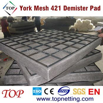 Stainless Steel York Mesh 421 Demister Pad