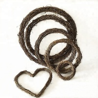 Various Shapes Grapevine Wreath Wire Wreath Frame Wreath Supplies Wholesale
