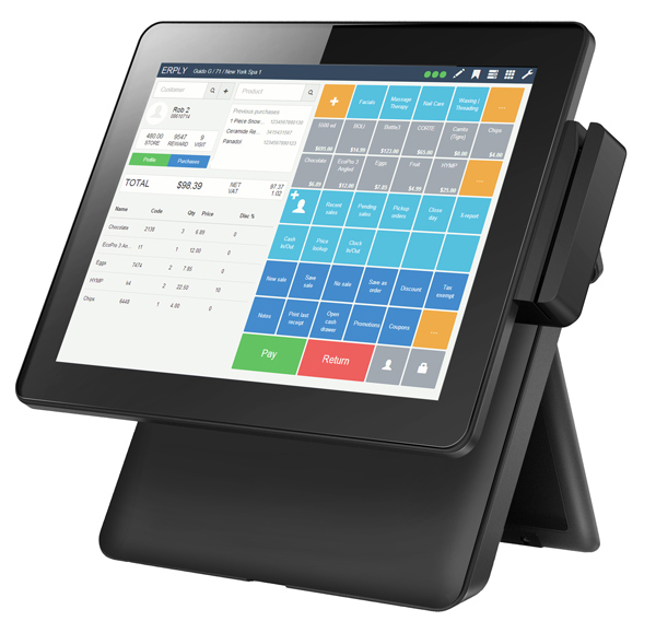 15 inch  windows  touch screen Cashier machine cashier register machine for restaurant