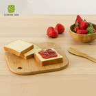 2018 new design High Quality mini bamboo cheese board bamboo wooden serving small bamboo cutting board