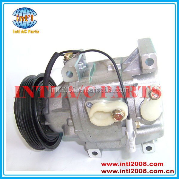 SCS06C A/C Compressor 2000-2002 Toyota Echo 1.5L/yaris 88310-52040 88310-52070 88320-52010 88320-52400 CO 10453