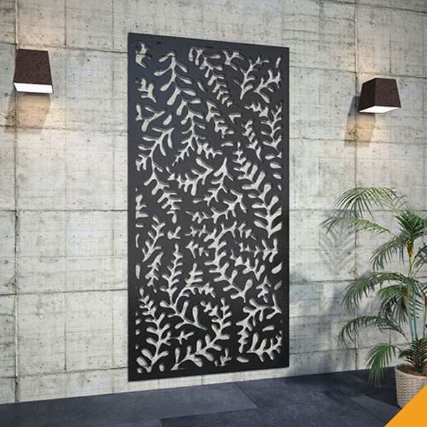 Factory Oem Decorative Outdoor Wall Art Corten Steel Screens