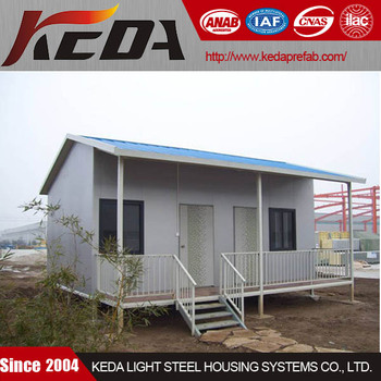 Small Casa Prefab Bungalow House for Sale in Low Price View cheap