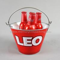 hot sale stainless steel ice bucket with printing