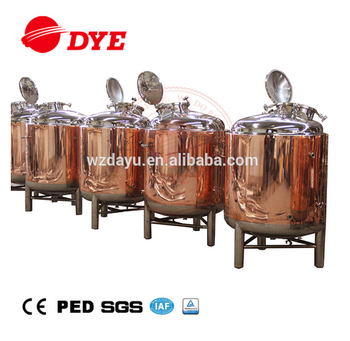 Stainless Steel/copper Brite Beer Brewing Equipment Bright Beer Tank For Sale