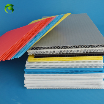 Conductive flute board color flute board best price recyclable plastic board 4x8 pp correx coroplast corflute sheet
