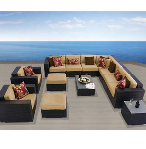 Outdoor garden furniture luxury sofa sets classic sofas