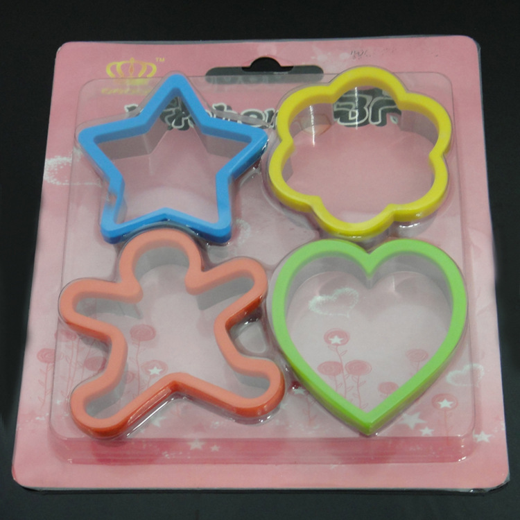Cookie Mold Aluminum Cake Mold Fondant Chocolate Bread Cookie Cutter